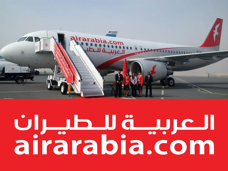 pesquisar voos baratos, air arabia